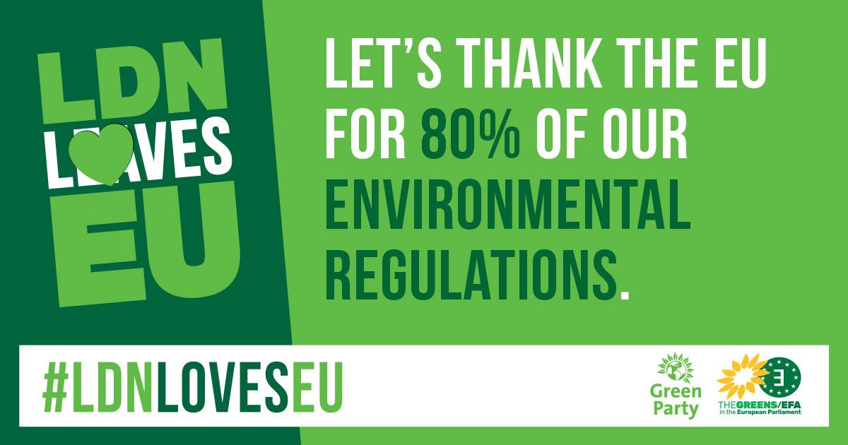 Meme - Let's thank the EU for 80% of our environmental regulations