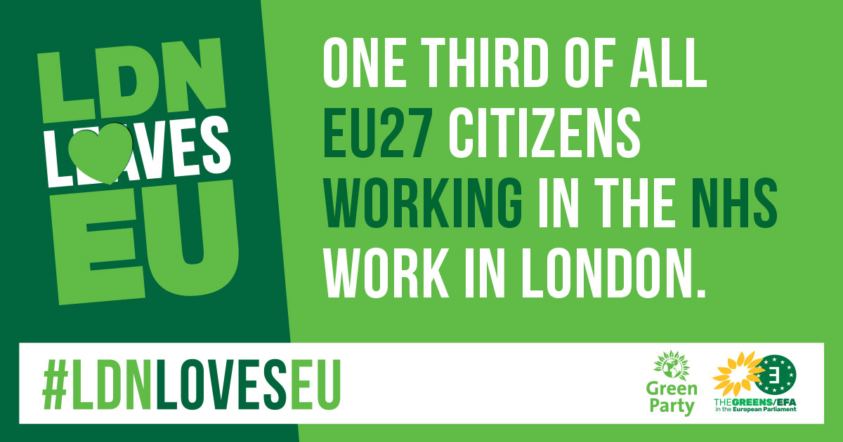 One third of EU citizens working in the NHS work