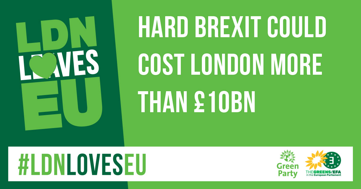 Meme - Hard Brexit could cost London £10 billion