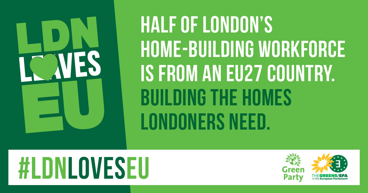 Meme - Half of London's home building work force is form the EU27