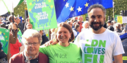 Greens at People's Vote March